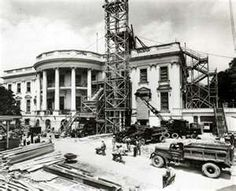 construction on the white house