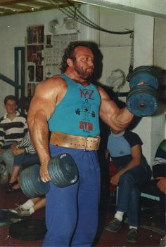 Bill Kazmaier, 3 time World's Strongest Man and perhaps the most well known