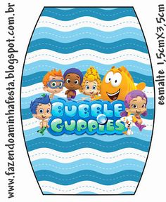 Right click and save as (site is in spanish) Bubble Guppies, Party Printables, Free Printables, Guppy, Bar, Birthday Decorations, Ideas Para, Bubbles, Kids Rugs