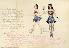 Wonder Woman's Earliest Costume Discovered