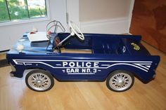 police pedal car | Collectors Weekly