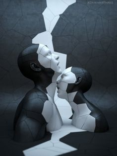 3D Digital Sculptures by Adam Martinakis