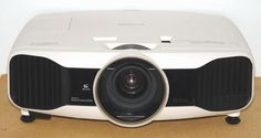 What You Should Know Before Buying a Video Projector: Epson PowerLite Home Cinema 5010e Video Projector - Photo of Front View