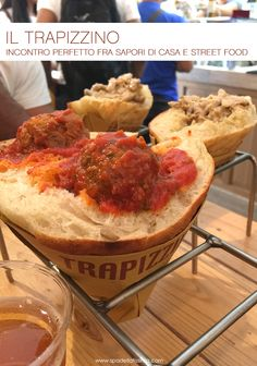 The Trapizzino, if you go to Rome you can not miss!