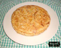 Tortilla de patata - http://www.mycookrecetas.com/tortilla-de-patata/
