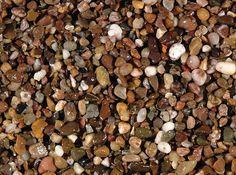 Round Gravel A natural dark chestnut brown gravel. Dog Food Recipes, Stones, Rocks, Stone