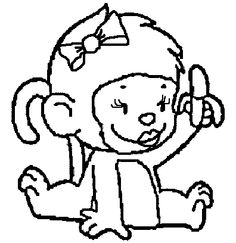 cute monkey coloring pages monkey coloring pages monkey coloring pages become interesting animals