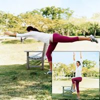 Love Your Belly, Butt, And Thighs: Warrior 3 to Stork