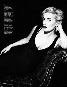 #KateWinslet   #Vogue Espana     AMAZING  realy like her hair.