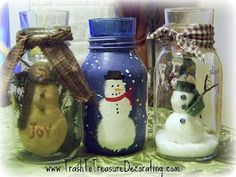 decorating with mason jars | Decorating mason jars | Christmas