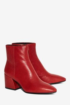 Vagabond Olivia Leather Boot - Clothes   Boots + Booties