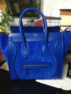 Beautiful in blue! Céline