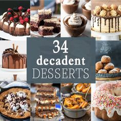 Hi there! It's Maryanne from The Little Epicurean. Last week, we talked about healthier desserts. Today, we're exploring the opposite side of the spectrum. Say hello to these 34 decadent desserts! At the end of a long week, there's nothing I crave more than a rich, chocolatey, over the top treat. From brownies and cheesecakes...Read More »