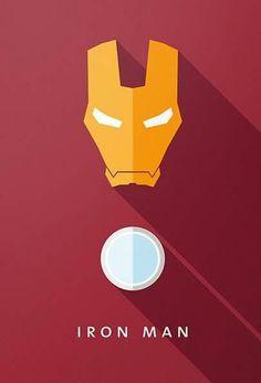 Flat Design e personagens da cultura pop nos pôsteres de Moritz Adam Schmitt Iron Man Wallpaper, Marvel Wallpaper, Cartoon Wallpaper, Marvel Vs, Marvel Dc Comics, Marvel Heroes, Iron Man Cartoon, Hero Poster, Ironman