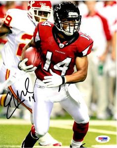 Eric Weems Autographed 8x10 Photo - PSA/DNA - Sports Memorabilia #EricWeems #Falcons #SportsMemorabilia