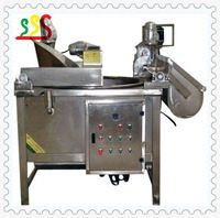 Oil and Water Mixed Fryer by Electricty Automatic Frying Machine
