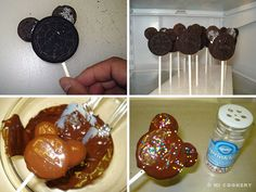 Mickey Mouse Oreo Cookie Pops November 18: Mickey Mouse's Birthday Happy birthday to Mickey Mouse, the iconic cartoon rodent and the official mascot of the Disney empire. Co-created by Walt Disney ...