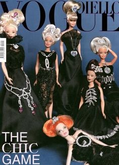 """Barbie Mania"": Miles Aldridge for Vogue Italia Gioiello"
