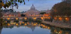 Roma: Lungo Tevere dal Ponte Umberto I°