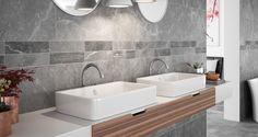 ZEN STONE Collection - COLORKER #Bath #tiles #porcelain #Stoneeffect #decor #interiors #colorker