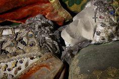 St. Faustine (Porrentruy, Switzerland)   19 Bejeweled Skeletons That'll Blow Your Mind