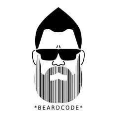 Beard Growth Spray is developed to enhance facial hair growth. Great Beards, Awesome Beards, Barcode Art, Sketch Manga, Beard Quotes, Beard Art, Beard Look, Big Beard, Beard Humor