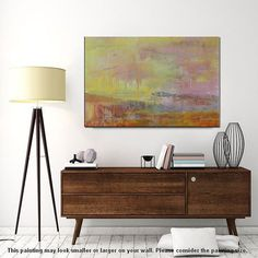 Oil Painting Large Art Canvas Art Abstract Wall Art by Topart007