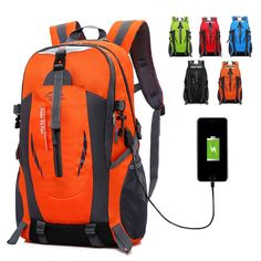 Camping & Hiking Sports & Entertainment Fashion Korean Backpack Rain Cover Hiking Backpack Tactical Pack Backpacking Gear Gym Army Bag Refreshment