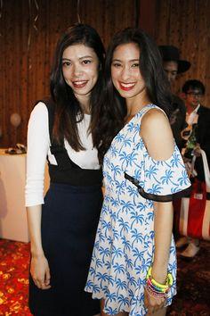 "Melody Yoko & Priscila at BIRKENSTOCK ""MADRID EVA MODEL"" Launch Party!"
