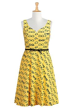 Funky and cool new dress I just ordered for my first day of teaching this fall! I love this website - the retailer allows customers to customize everything (neckline, dress length, measurements, etc). I changed this to a v-neck and had it cut for my exact height. Can't wait to wear this!