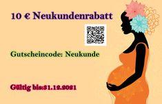 Mode für Schwangere 10€ Neukundenrabatt - Gutscheine & Aktionen Early Pregnancy, Gift Cards