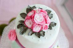 Hochzeit Flower Bouquet Rose fondant rosa wedding cake topper Torte kuchen