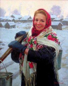 Pavlovo-posadsky headscarf