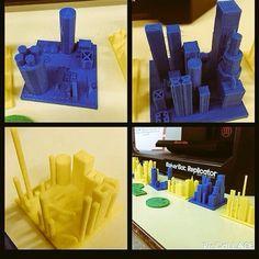 We love the #metropolis project made in Morphi by stevewclark + the #3rdgraders at ChrisAkkermanSchool!