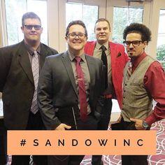 Our team always looks SHARP & work SMART . . . . . . . . . . . . . . . #sandowinc #lookingsharp #smart #business #businessman #team #bestteam