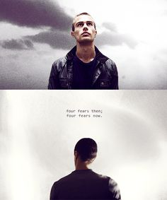 Four fears then; four fears now. | Divergent by Veronica Roth | Divergent series | #quote | #film |