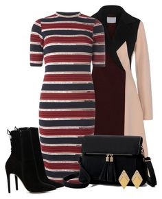 """""""Bodycon Dress Outfit"""" by mozeemo ❤ liked on Polyvore featuring Dorothy Perkins, ALDO and Swarovski"""