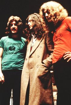 John Bonham, Jimmy Page, Robert Plant -- Led Zeppelin