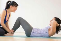 do sit ups help you lose weight on your belly