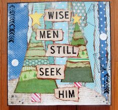 Christmas Art card. E&m would enjoy this.