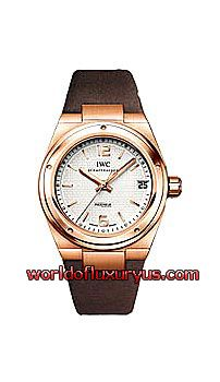 IWC - Ingenieur Midsize Automatic Men's Watch - IW451505 (Rose Gold / Silver Guilloche Dial / Brown Nylon Strap) - See more at: http://www.worldofluxuryus.com/watches/IWC/Ingenieur/IW451505/185_202_950.php#sthash.E2c3pIiS.dpuf