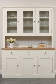 Painted Kitchen Dressers and Fine Free Standing Furniture from The Kitchen Dresser Company / Furniture - Kitchen Dressers - Mrs Brown's Kitchen Remodel, Kitchen Design, Kitchen Paint, Kitchen Decor, Country Kitchen, Kitchen Furniture, Dining Room Dresser, Kitchen, Bespoke Kitchens
