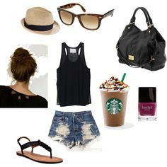 Finally did a polyvore...My summer style to the dot.
