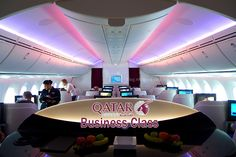 Business Class with Qatar airways