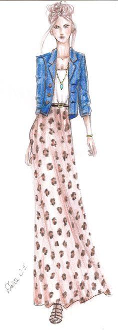 meu desenho de moda