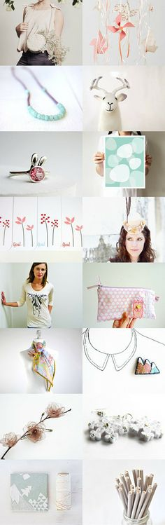 Gift Guide - Pastel by Leda Design on Etsy--Pinned with TreasuryPin.com