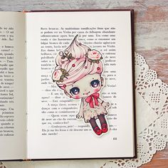 A book and a cupcake! Whats better than that? Take Whippita (the cupcake girl) bookmark, and never miss a sweet moment with your favorite book!