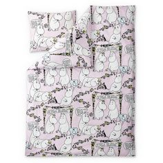 Moomin duvet cover 150 x 210 cm by Finlayson