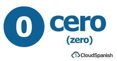 cero (zero)
