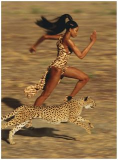 Naomi Campbell by Jean Paul Goude (2009)